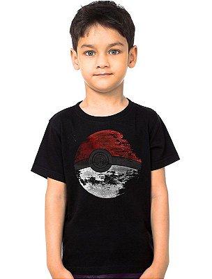 Camiseta Infantil Esfera do Pokemon