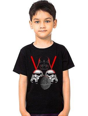 Camiseta Infantil Star Wars Darth Vader - Stormtrooper