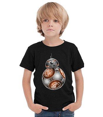 Camiseta Infantil Star Wars BB-8
