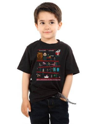 Camiseta Infantil Os caças Fantasmas - Movie