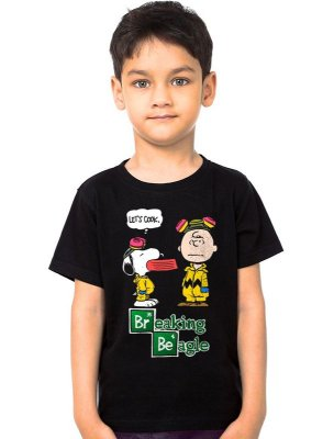 Camiseta Infantil Breaking Beagle