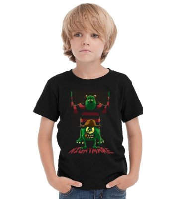 Camiseta Infantil Monstros S.A Nightmare