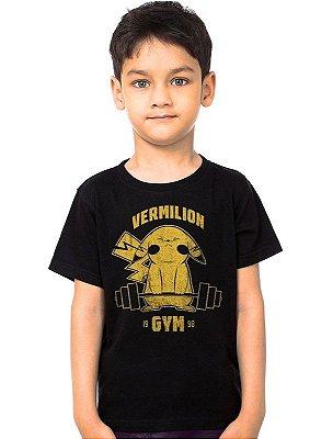 Camiseta Infantil Pokemon Vermilion Gym