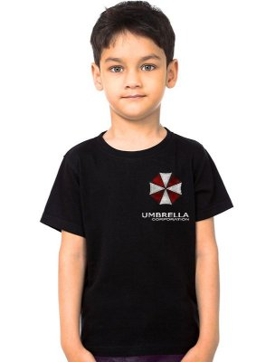 Camiseta Infantil Resident Evil Umbrella Corporation