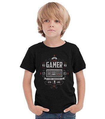 Camiseta Infantil Nintendo - Classic Gamer