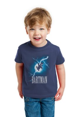 Camiseta Infantil Simpson Bartman