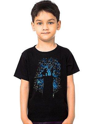 Camiseta Infantil Star Wars Batalha