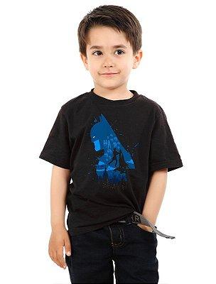 Camiseta Infantil Batman Dark e Coringa