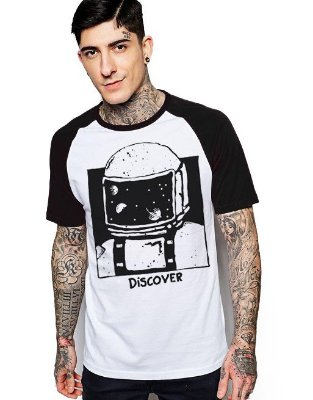 Camiseta Raglan King33 Discover