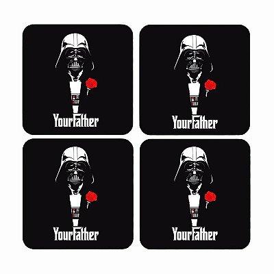 Porta Copos Darth Vader - Your Father
