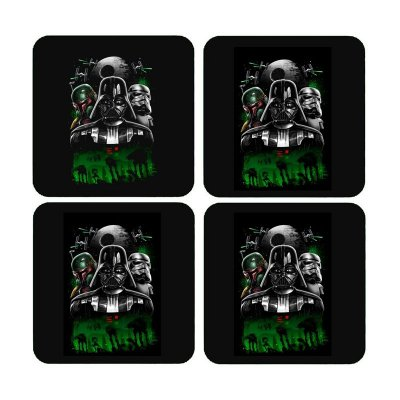Porta Copos Star Wars - Boba, Darth Vader, Stormtrooper