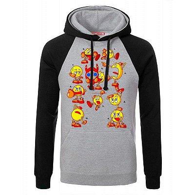 Blusa com Capuz Pac-man