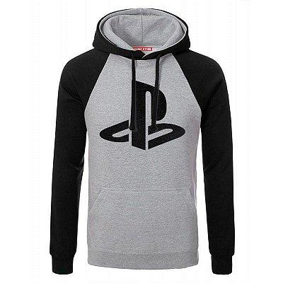 Blusa com Capuz Playstation