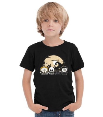 Camiseta Infantil South Park no Estranho Mundo de Jack