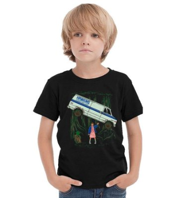 Camiseta Infantil Stranger Things - Eleven