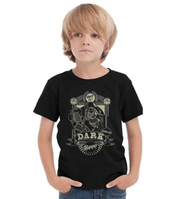 Camiseta Infantil Star Wars: Dark Beer