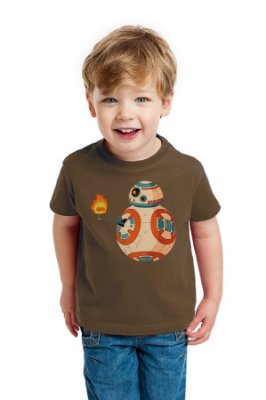Camiseta Infantil BB-8 - Star Wars