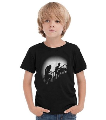 Camiseta Infantil Scooby Doo Danger