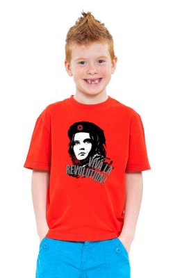 Camiseta Infantil Star Wars Viva la Revolution