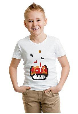 Camiseta Infantil Tetris