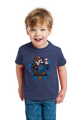 Camiseta Infantil Super Mario Vintage
