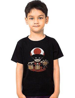 Camiseta Infantil Toad Evil
