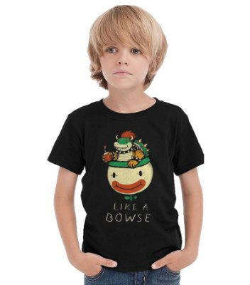 Camiseta Infantil Like a Bowse.