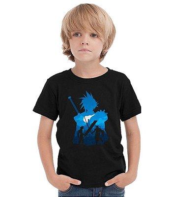 Camiseta Infantil Final Fantasy - Videogame