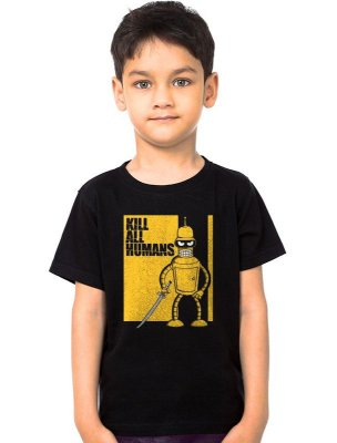 Camiseta Infantil Kill all Humans