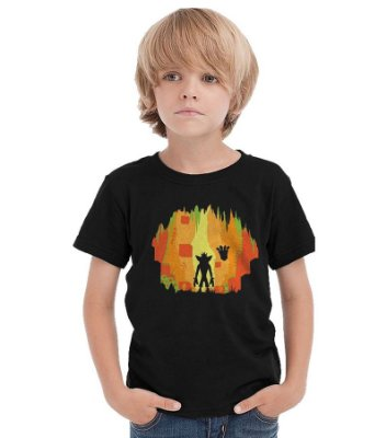 Camiseta Infantil Crash