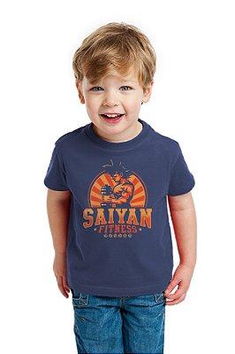 Camiseta Infantil Saiyan Fitness
