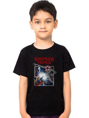 Camiseta Infantil Stranger Things - Serie