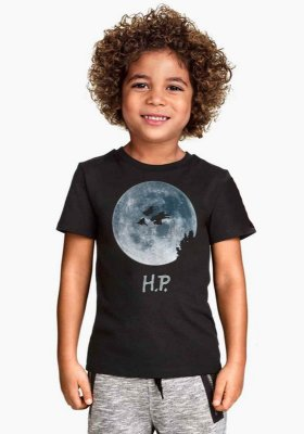 Camiseta Infantil Harry Potter - ET