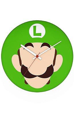 Relógio de Parede Luigi Face