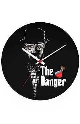 Relógio de Parede Heisenberg The Danger