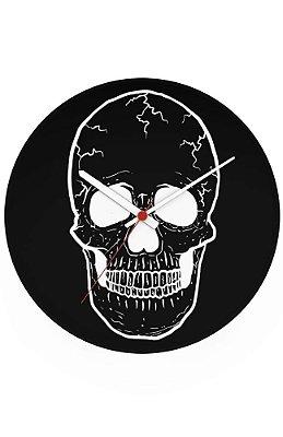 Relógio de Parede Skull Ghost