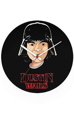Relógio de Parede Dustin Wars
