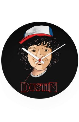 Relógio de Parede Dustin - Stranger Things