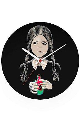 Relógio de Parede A Família Addams - Wandinha