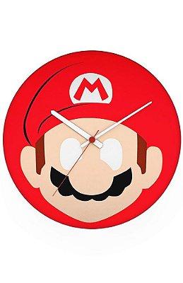 Relógio de Parede Super Mario - Game