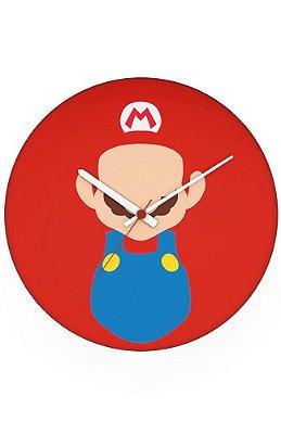 Relógio de Parede Super Mario Word