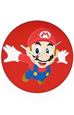 Relógio de Parede Super Mario Word - Game