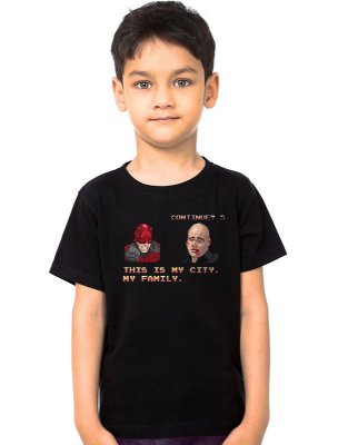 Camiseta Infantil Demolidor