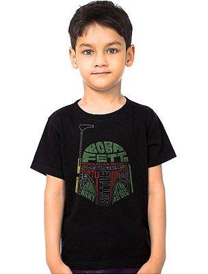 Camiseta Infantil Boba - Star Wars