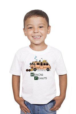 Camiseta Infantil Reaking Peanuts