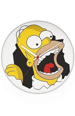 Relógio de Parede Homer Simpsons