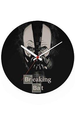 Relógio de Parede Breaking Bat