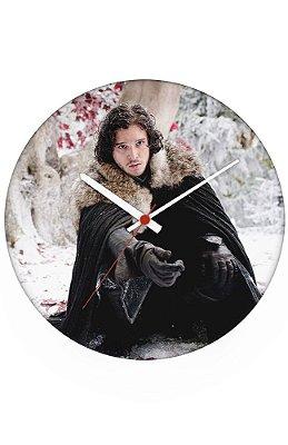 Relógio de Parede Game of Thrones - Jon Snow