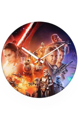 Relógio de Parede Star Wars - Filme