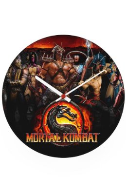 Relógio de Parede Mortal Kombat